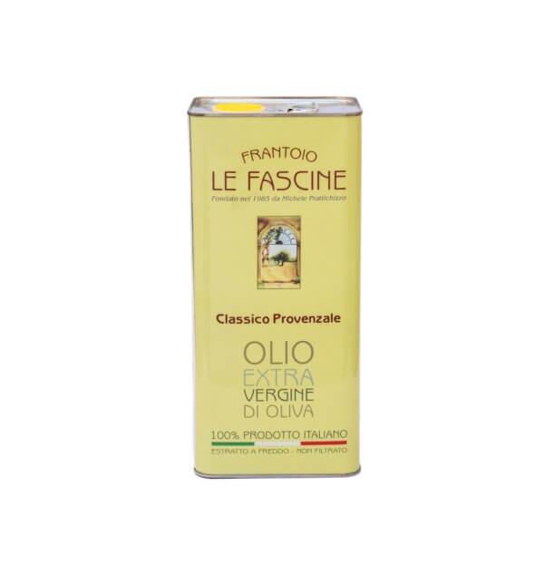 Latta di Olio da 5 litri Le Fascine