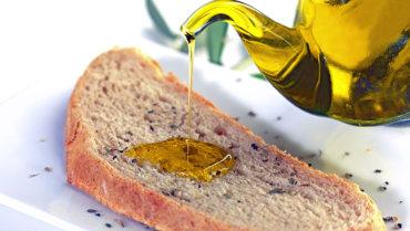 Pane e olio extravergine d'oliva per disintossicare il fegato